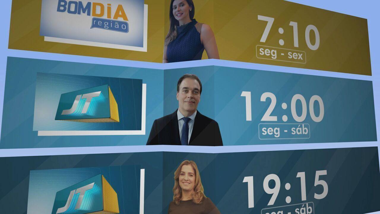 Fique ligado nas notícias da região no Bom Dia Região e Jornal da Tribuna 1ª e 2ª edição