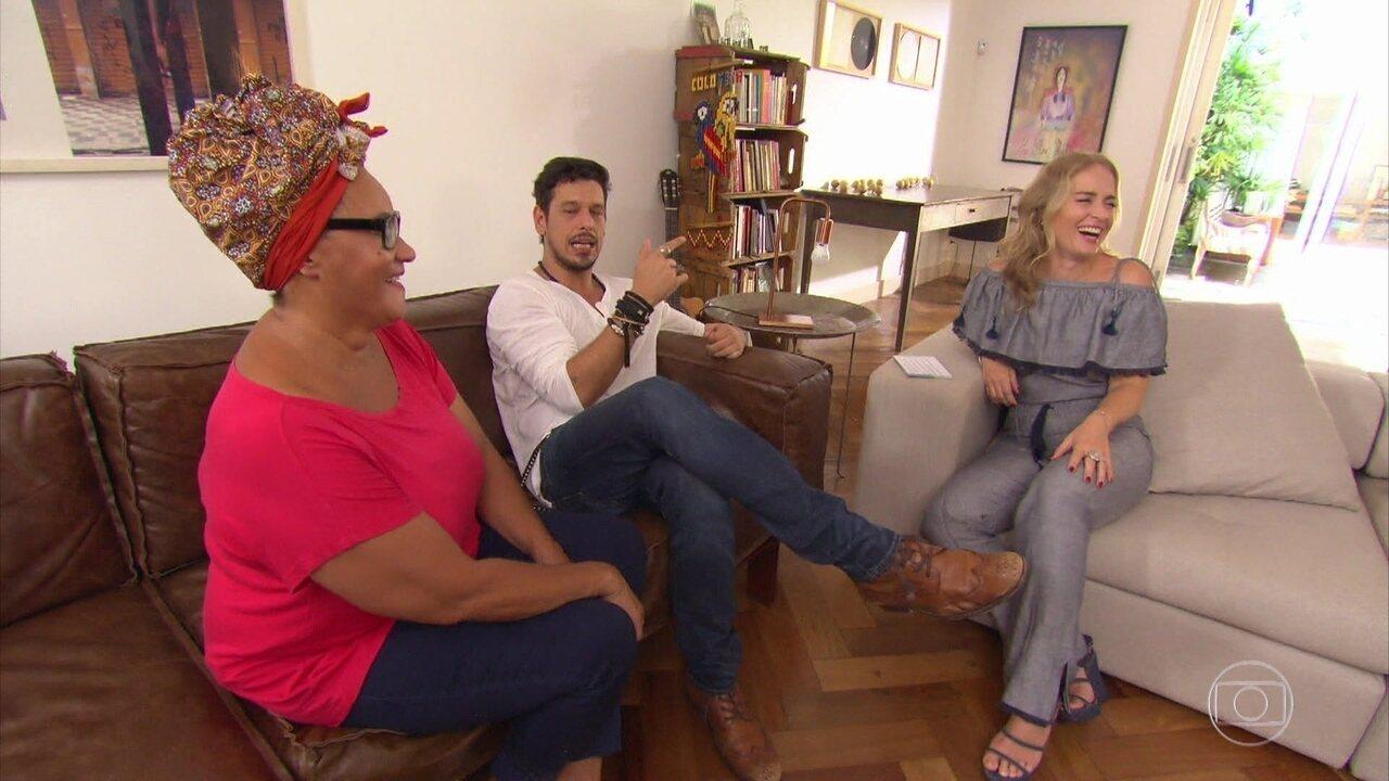 Angélica visita a casa de João Vicente de Castro