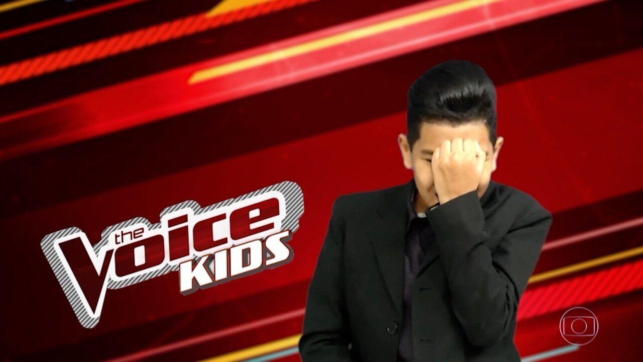 Kaio Fernandes do The Voice Kids convida para pocket show promovido pela Inter TV