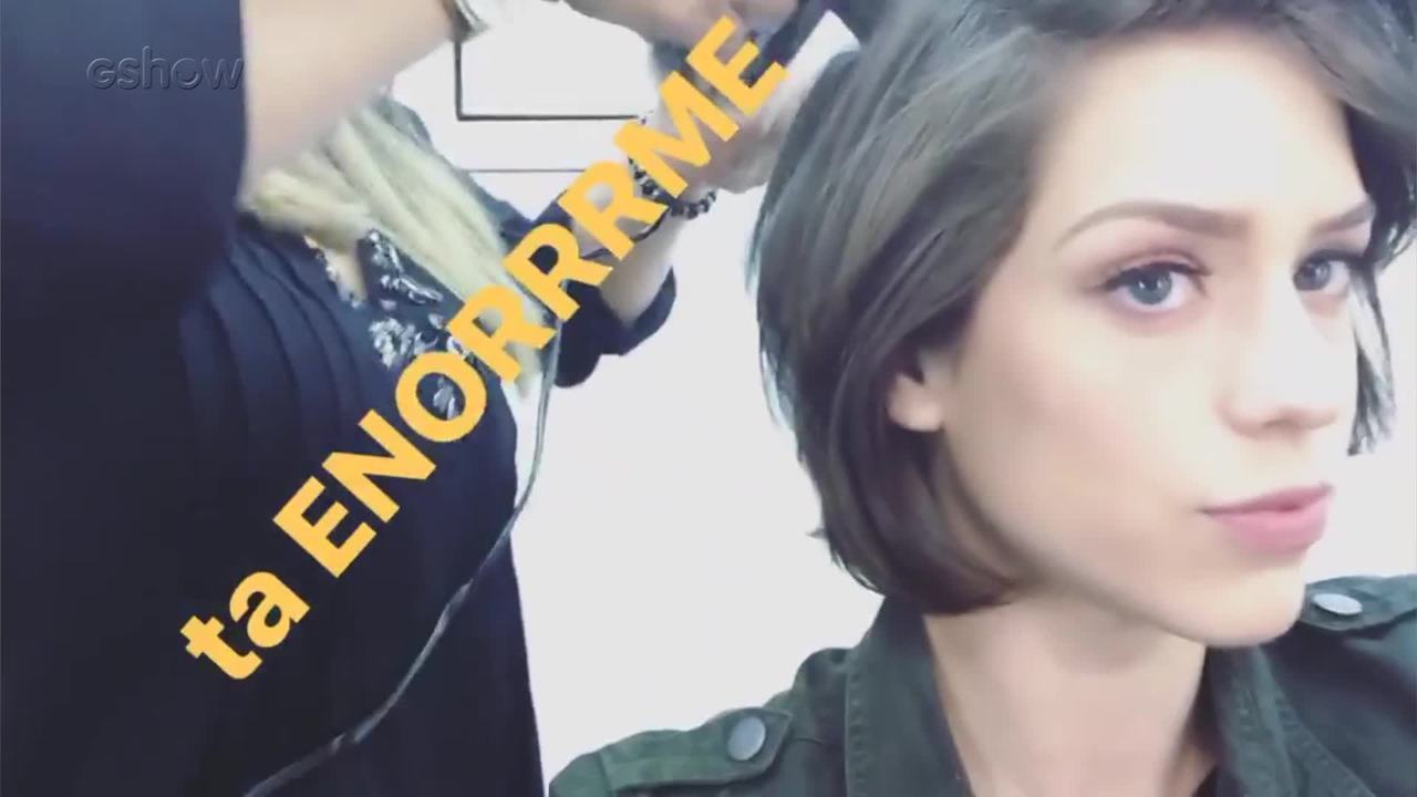 Acompanhe a preparação de Sophia Abrahão para o Vídeo Show