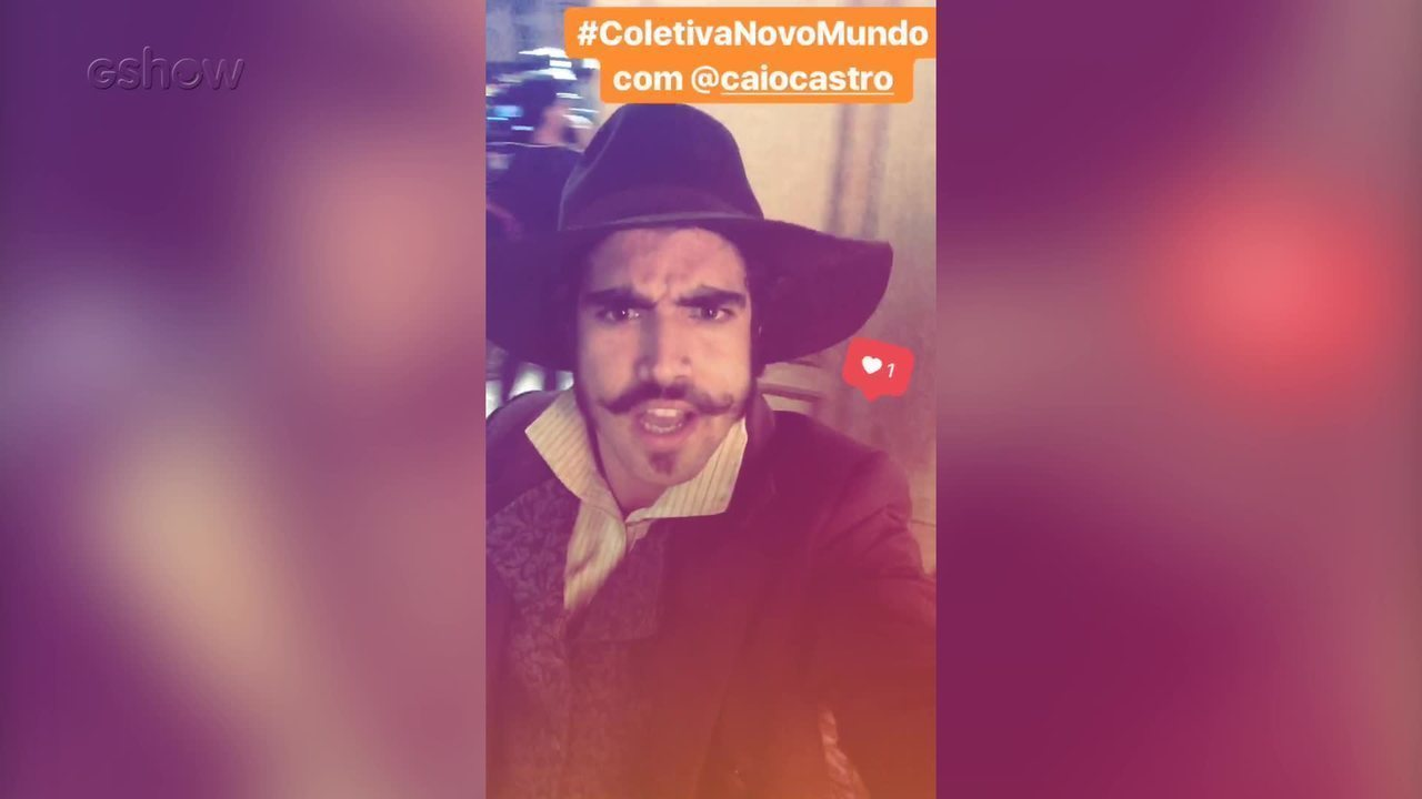 Elenco de Novo Mundo agita as redes sociais do Gshow