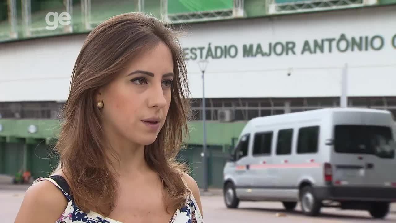 Paula sofreu abordagem violenta de policiais a caminho do estádio