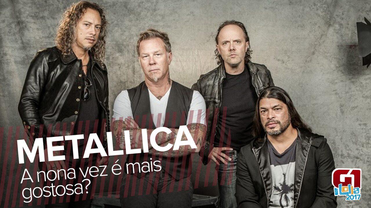 Como será o Metallica no Lollapalooza?