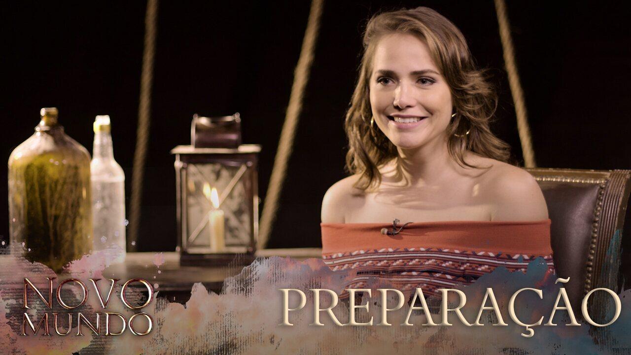 Letícia Colin conta como foi o processo de preparação para 'Novo Mundo'