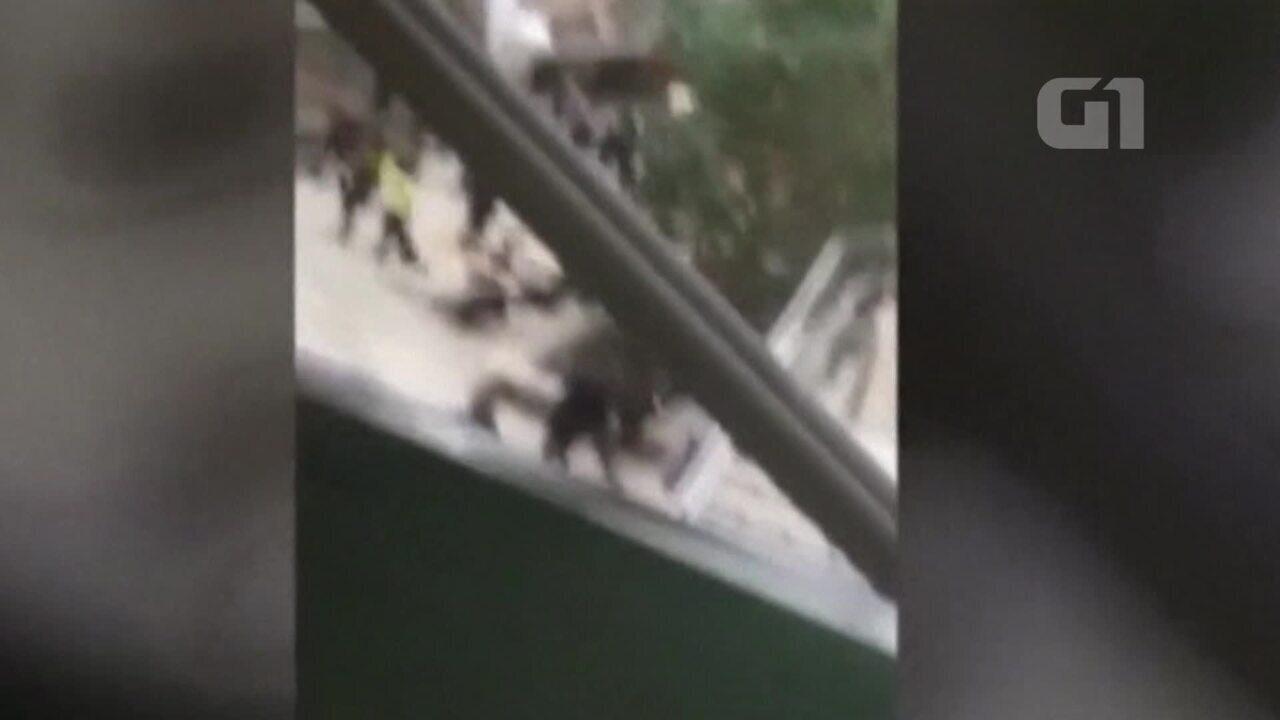 Vídeo mostra pânico dentro de Parlamento em Londres durante ataque em Westminster