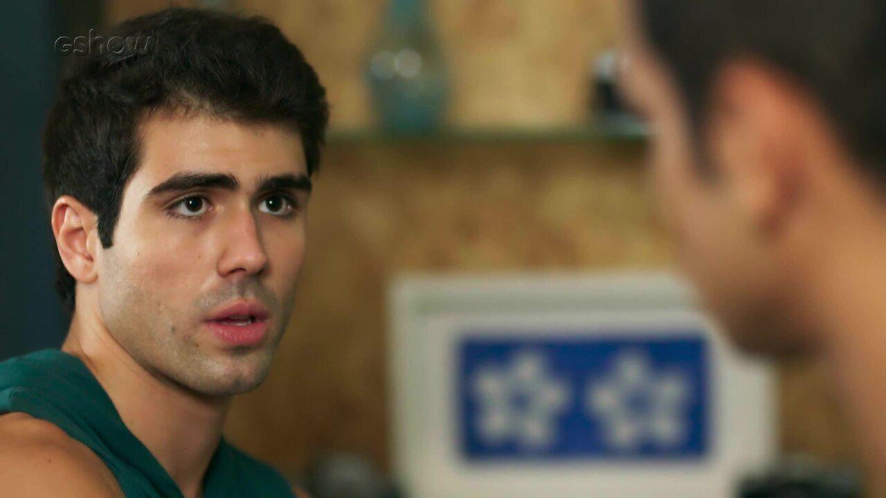 Teaser Malhação 24/03: Rômulo diz que sente a presença de Filipe!