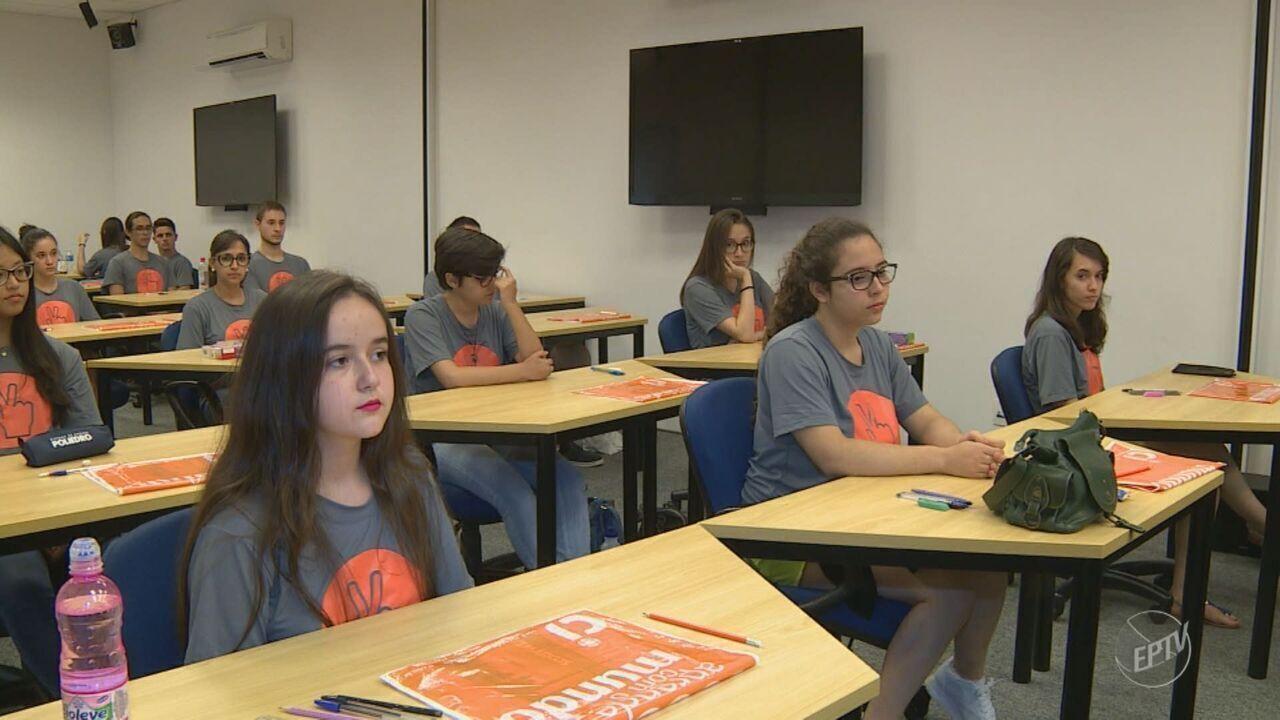 31 estudantes realizam última fase do 'Virando Bixo' no último domingo