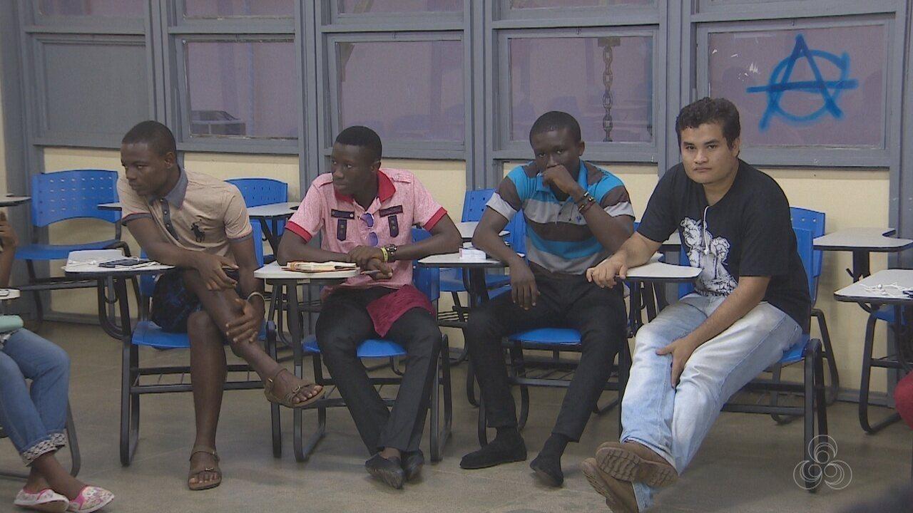 21 estudantes de cinco países vão estudar língua portuguesa na Universidade Federal do Amapá