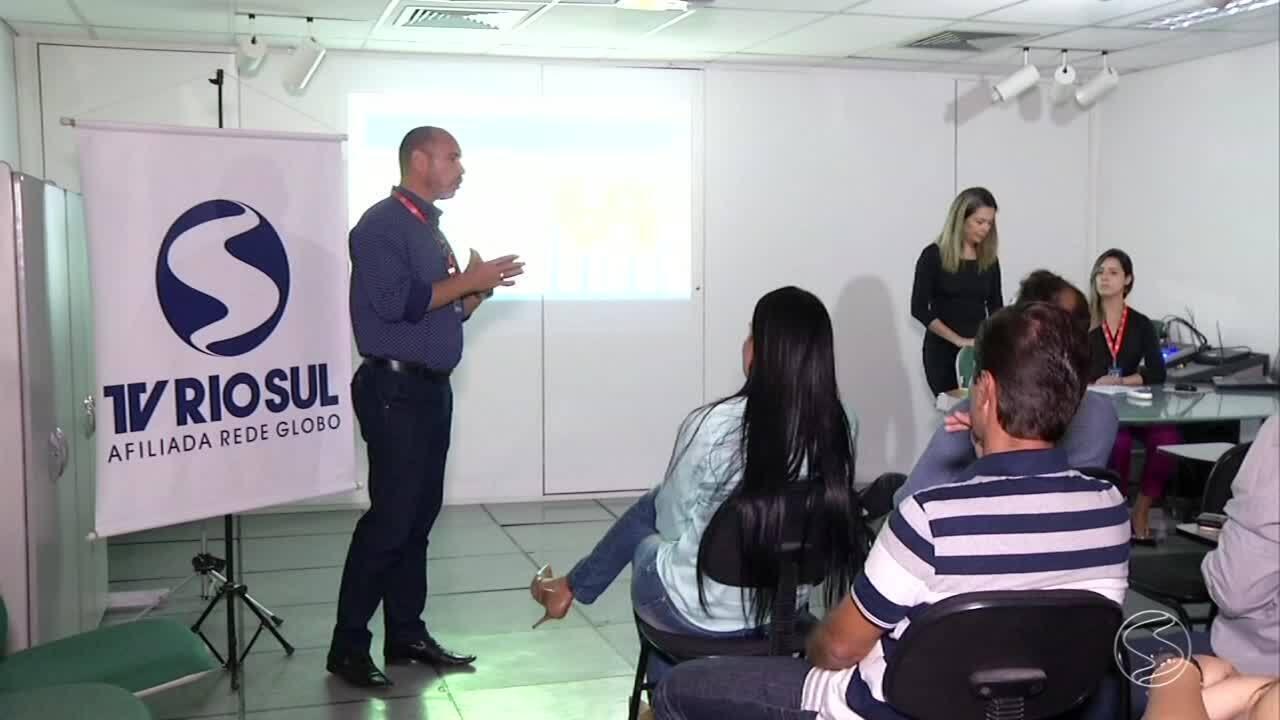 TV Rio Sul recebe grupo de empresários de Resende, RJ