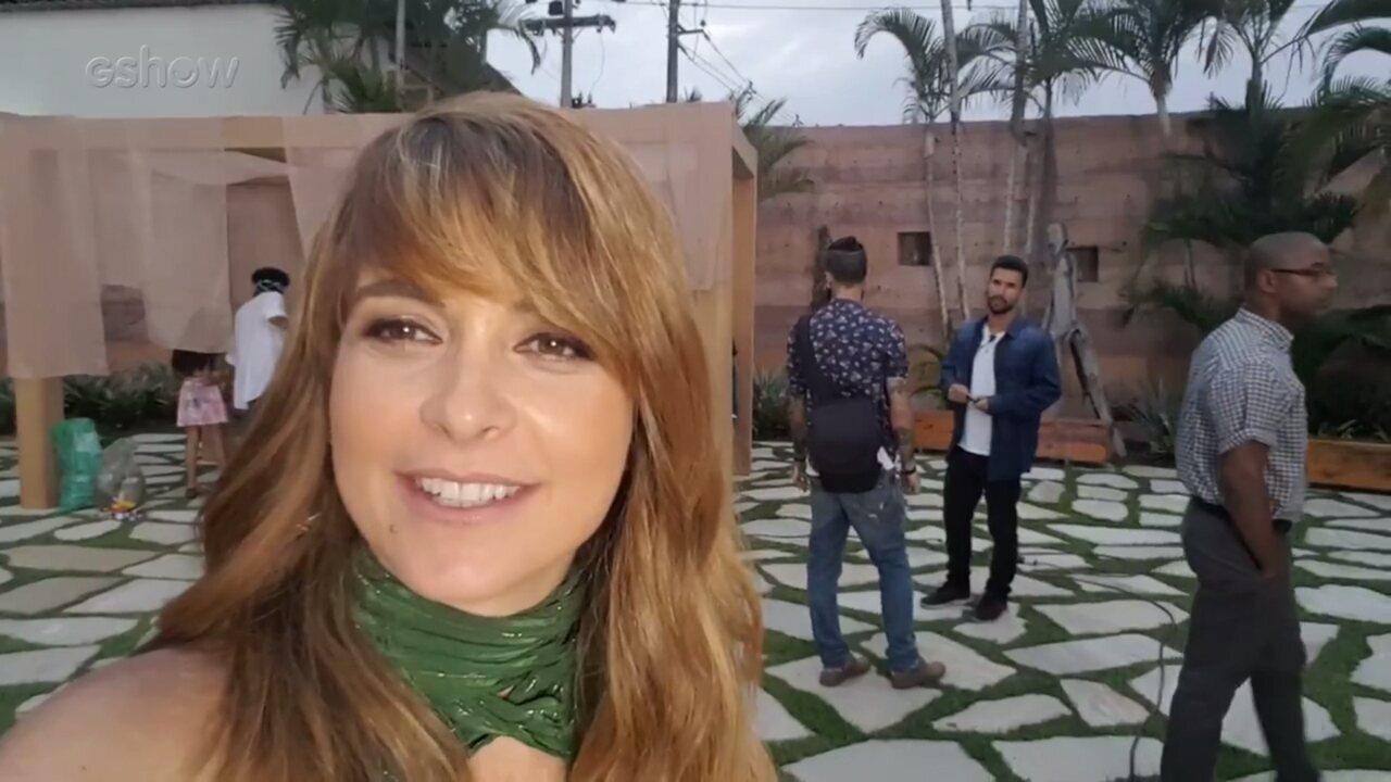 Cláudia Abreu fala sobre o fim da novela e elege sua cena favorita