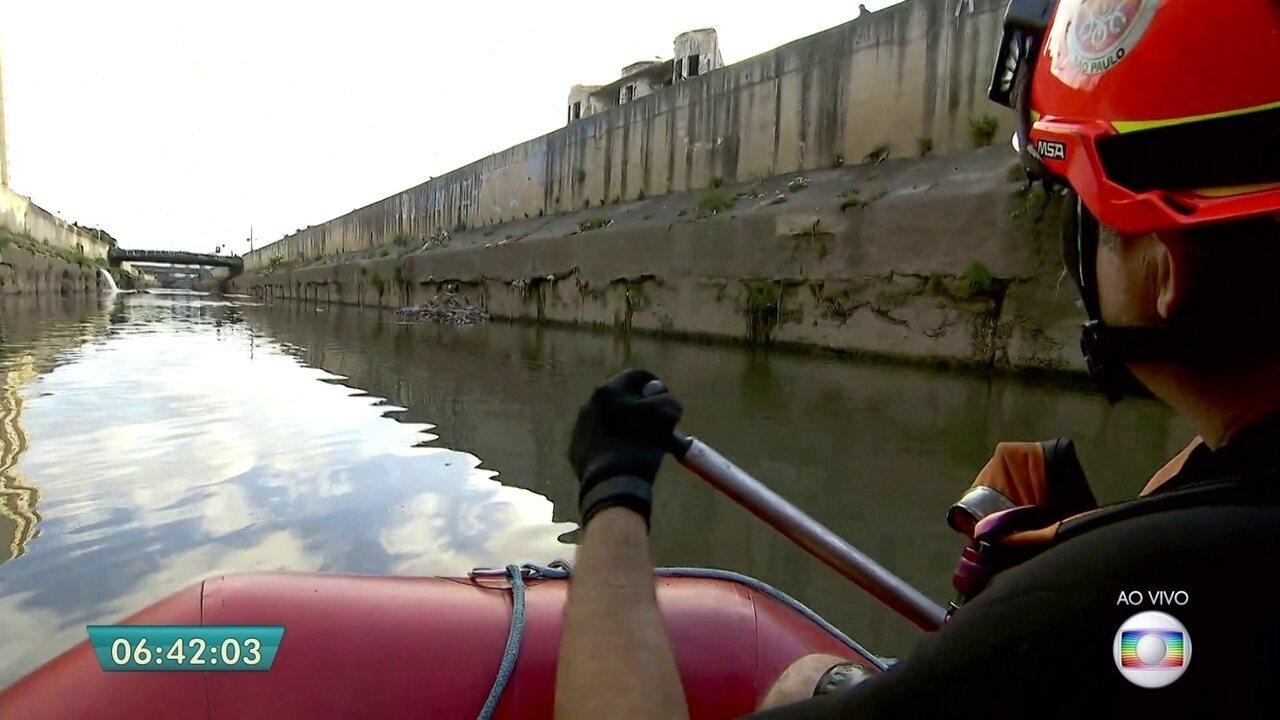 Águas do Rio Tamanduateí foram canalizadas para abrir espaço para avenidas
