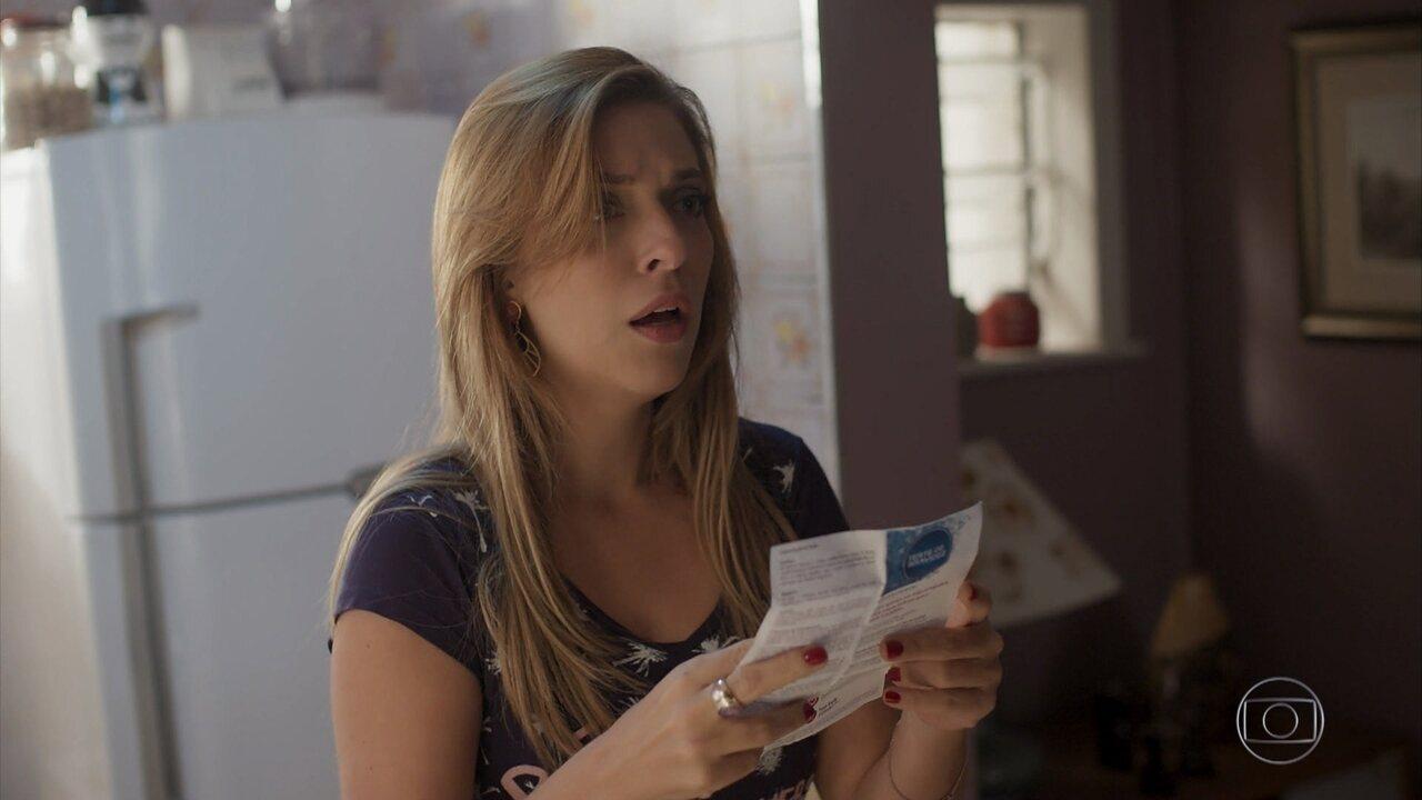 Marisa descobre que está grávida
