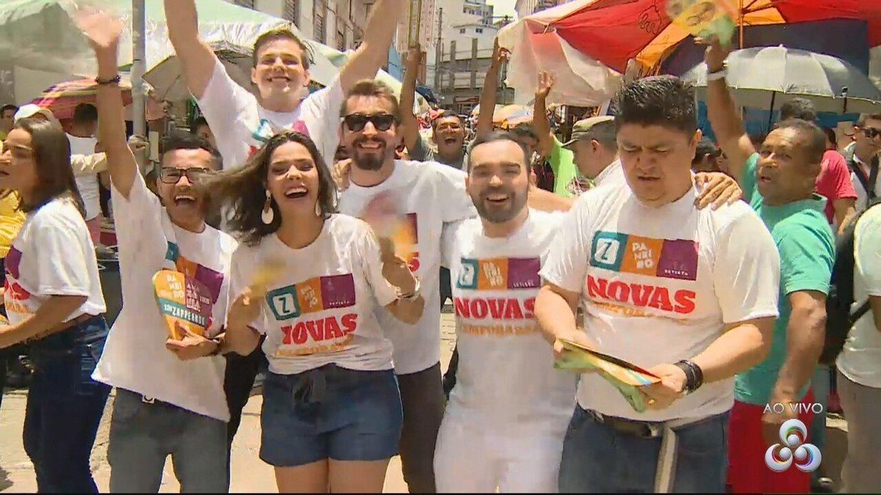 Ações em Manaus promovem estreia dos programas da Rede Amazônica