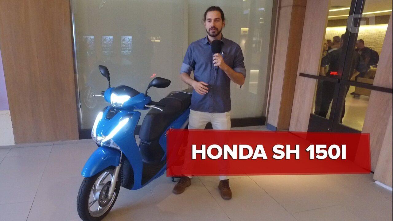 9f63e09e6d12c Honda SH 150i é lançado no Brasil com preço de R  12.450