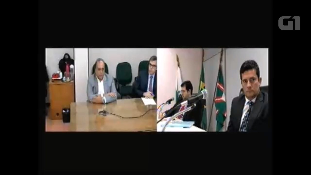 Luiz Fernando Pezão presta depoimento como testemunha de defesa de Sérgio Cabral