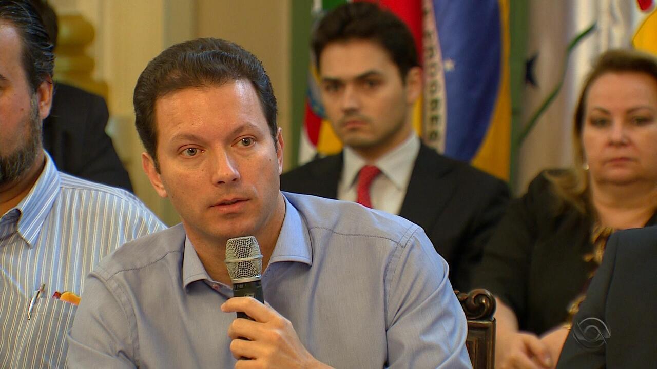 Prefeito de Porto Alegre Nelson Marchezan Jr. faz balanço dos 100 dias de governo