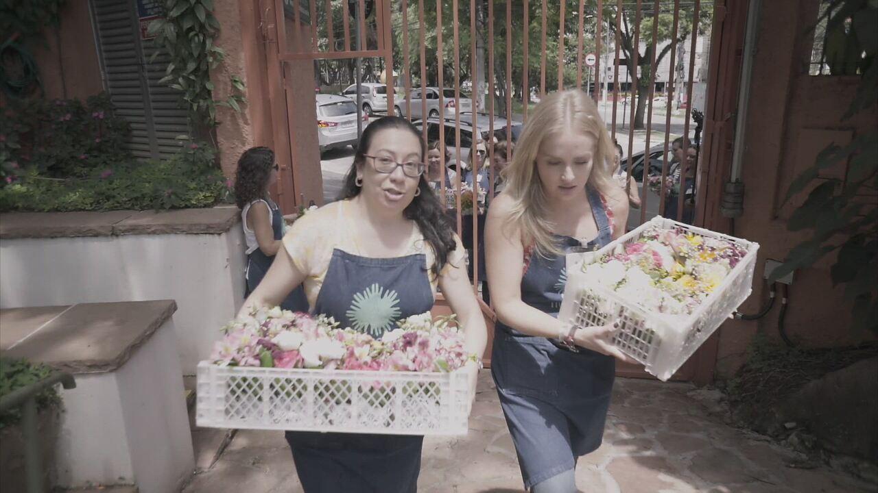 Estrelas - Programa de 08/04/2017 na íntegra - Jesuíta Barbosa viaja até Santarém, no Pará, para conhecer um projeto que leva saúde, educação e muita alegria para comunidades ribeirinhas. Já Débora Nascimento se voluntaria em um salão de beleza que faz atendimento gratuito para mulheres desempregadas em Porto Alegre. Em São Paulo, Angélica participa de um projeto que reaproveita flores que seriam descartadas.