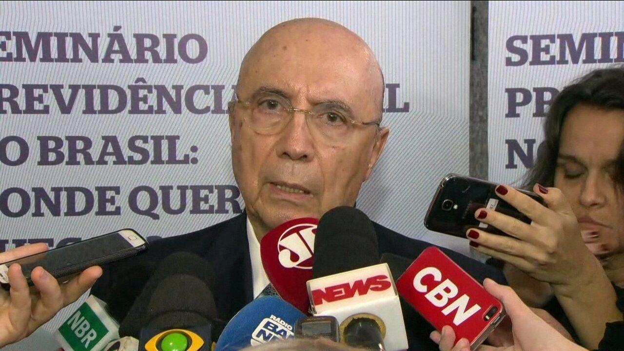 Henrique Meirelles diz que, sem reforma, gasto previdenciário vai a 17,2% do PIB em 2060