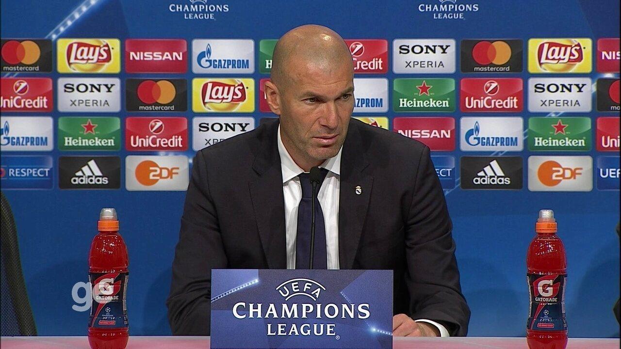 Zidane diz que Real soube se comportar quando Bayern estava melhor na partida