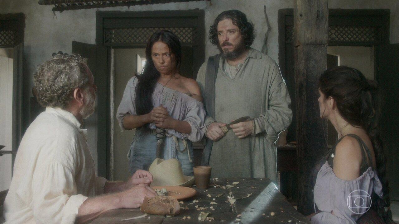Germana e Licurgo vendem Elvira para Wolfgang