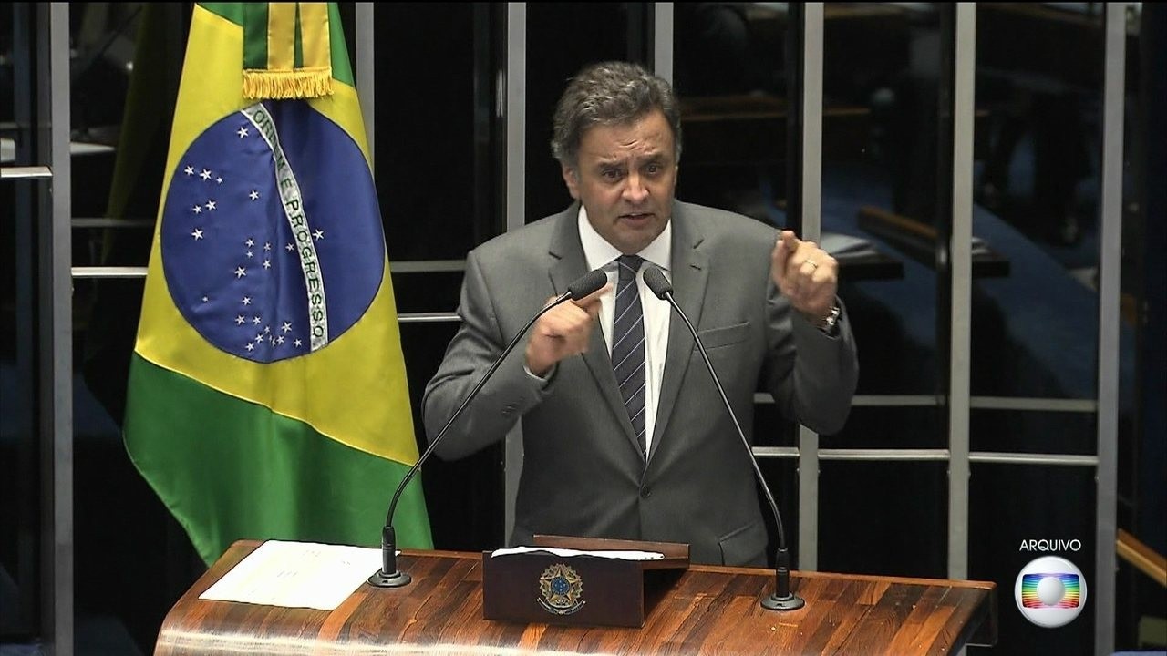 Aécio Neves, presidente do PSDB, tem cinco inquéritos na lista de Fachin