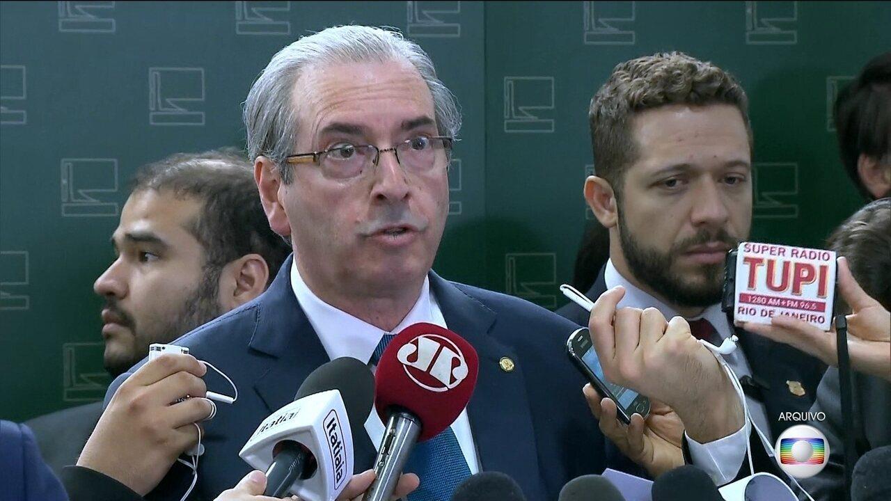 Delatores citam Cunha no envolvimento de diversos crimes