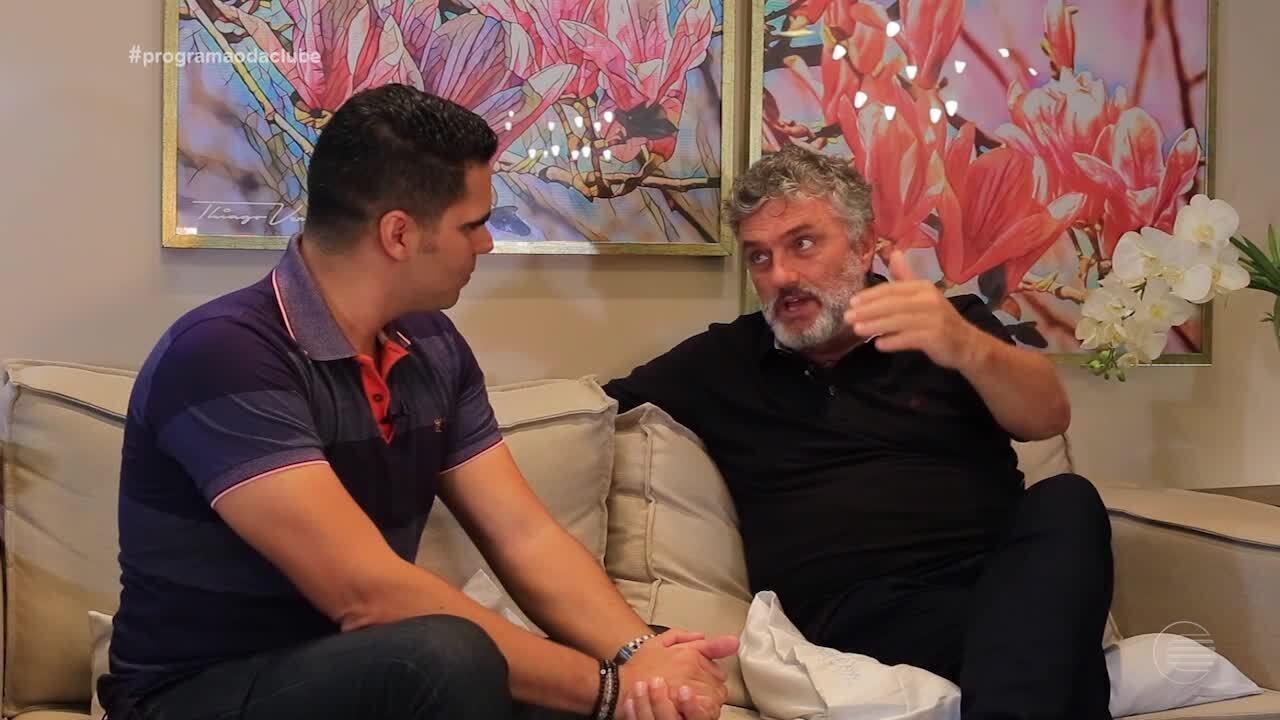 Werner Schünemann fala sobre sua participação no espetáculo 'Paixão de Cristo' em Floriano