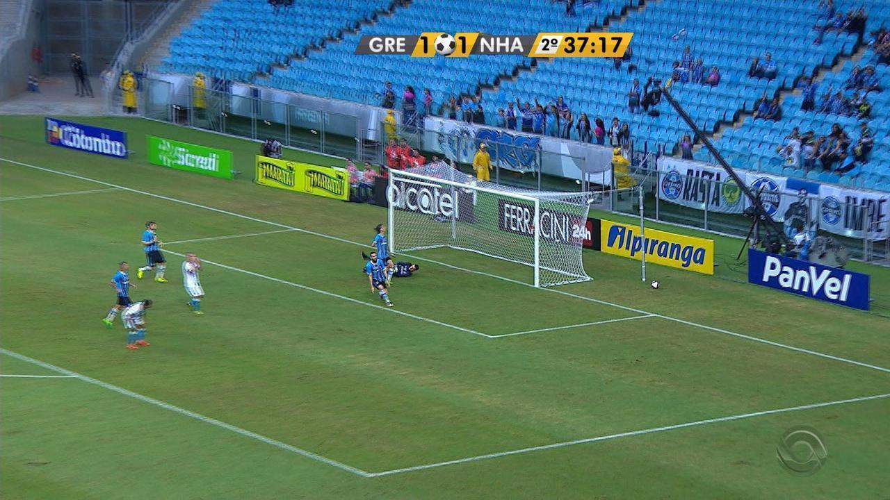 Relembre os melhores momentos de Grêmio 1 x 1 Novo Hamburgo, na Arena