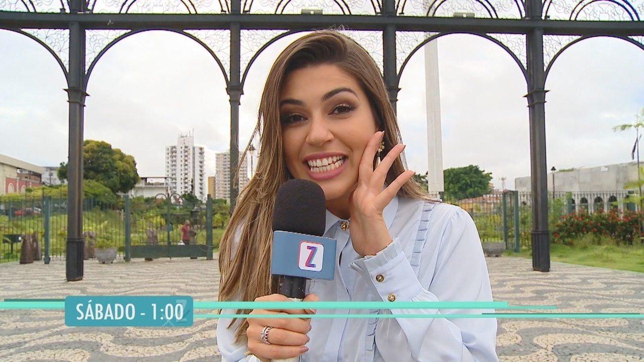 Sábado (22) tem Vivian Amorim no 'Zappeando'