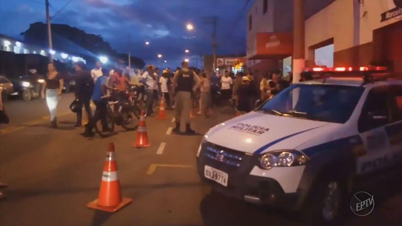 Polícia Miltiar prende suspeitos de matar a tiros dois homens em Guaxupé (MG)