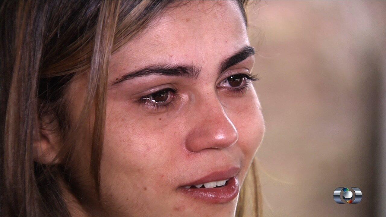 Jovem relata tristeza após perda de quíntuplos, em Goiânia