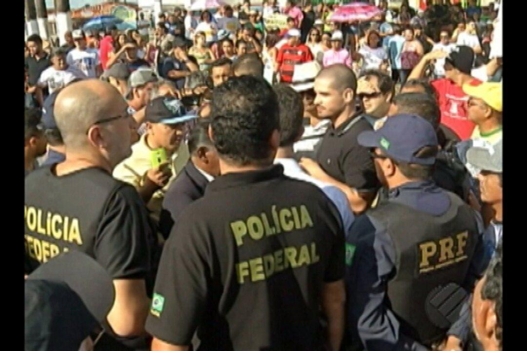 Moradores voltam a protestar contra o aterro sanitário de Marituba, na Grande Belém