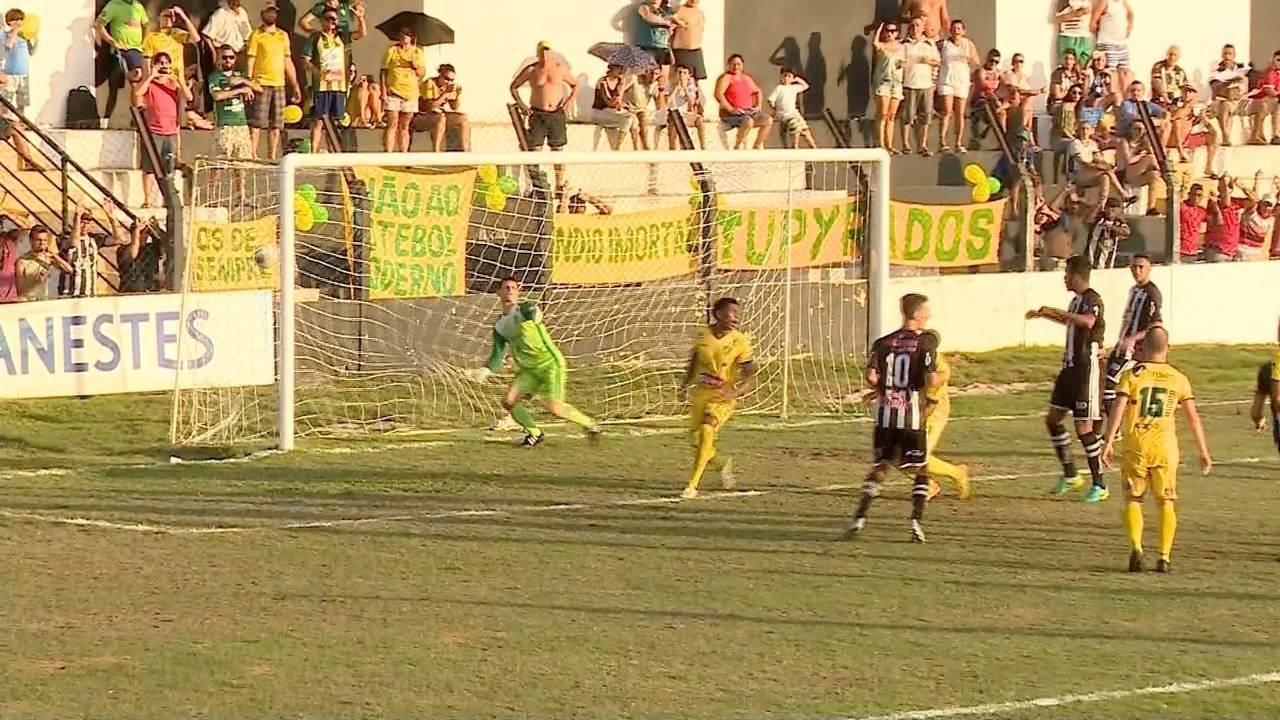 Os gols de Atlético-ES 1 x 1 Tupy-ES, pelo Campeonato Capixaba 2017