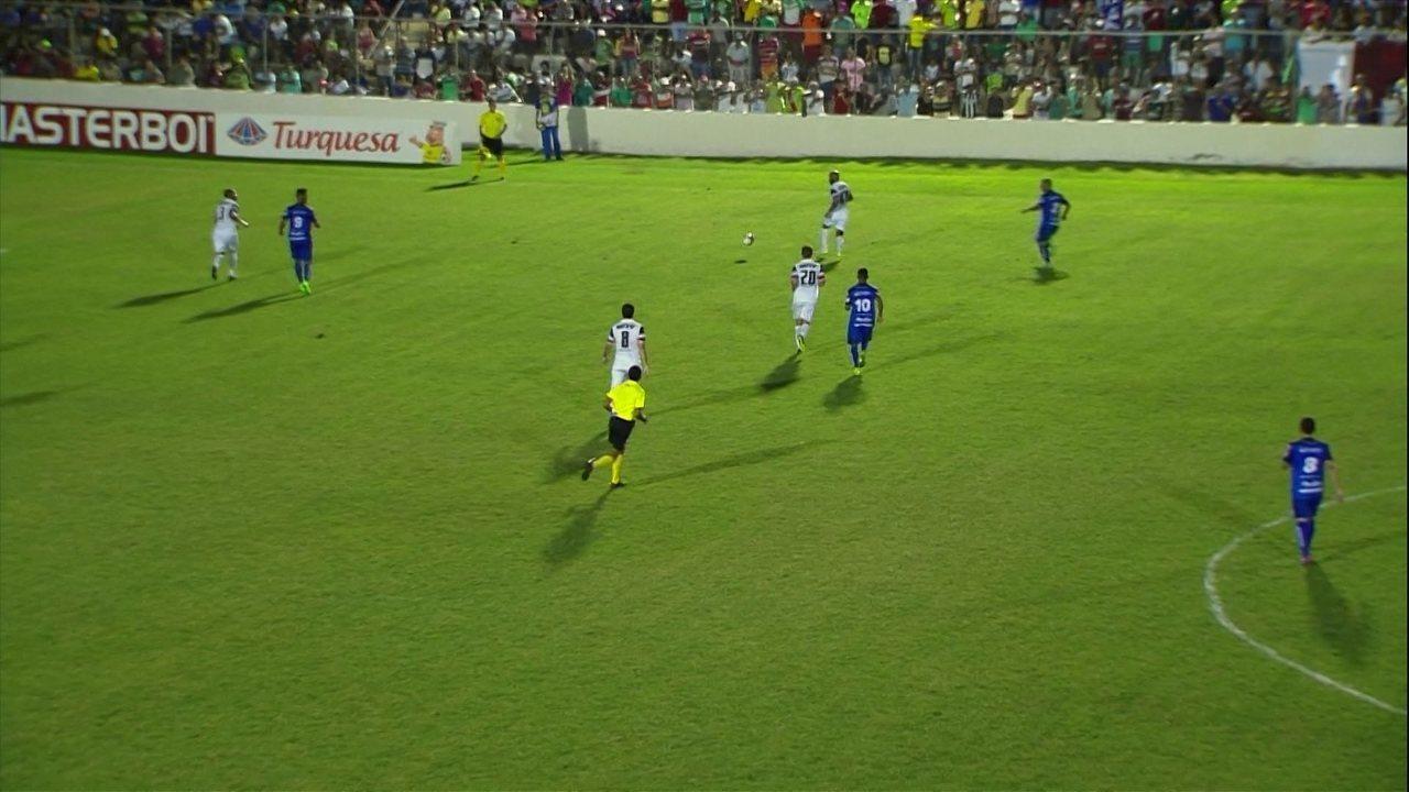 Semifinal do Pernambucano entre Salgueiro e Santa Cruz