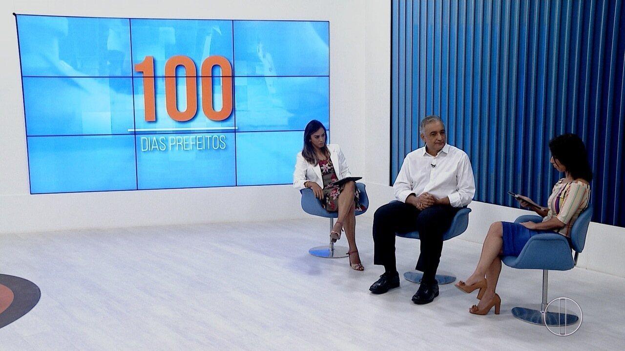RJ Inter TV entrevista Carlos Augusto, prefeito de Rio das Ostras