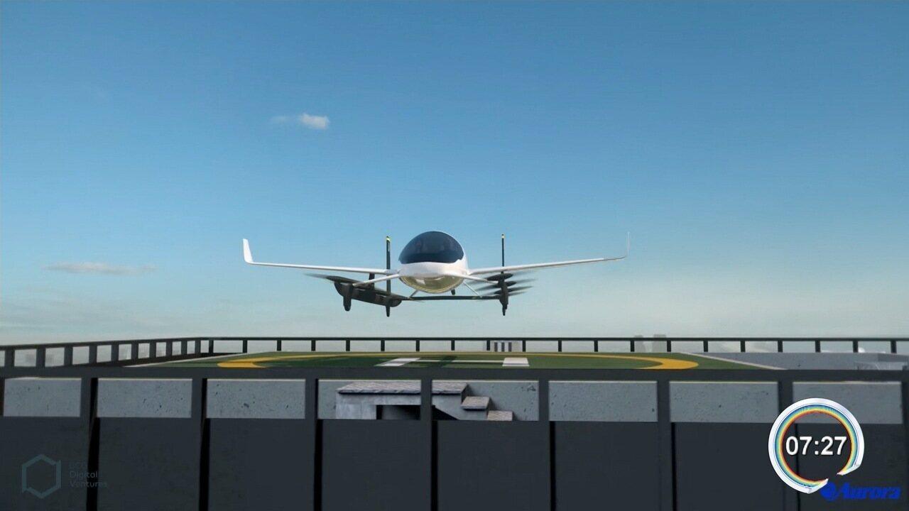 Embraer faz parceria com Uber para criar conceito de 'carro voador