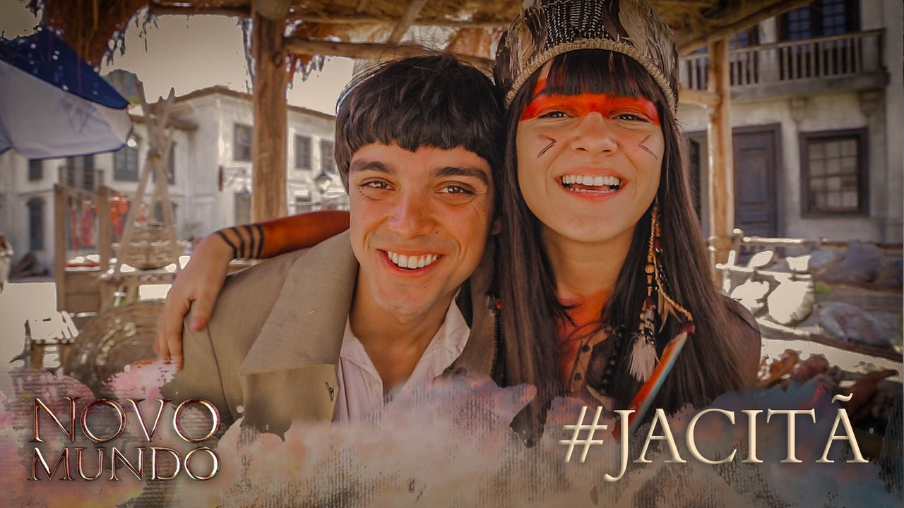 Rodrigo Simas e Giullia Buscacio explicam o significado dos nomes Piatã e Jacira