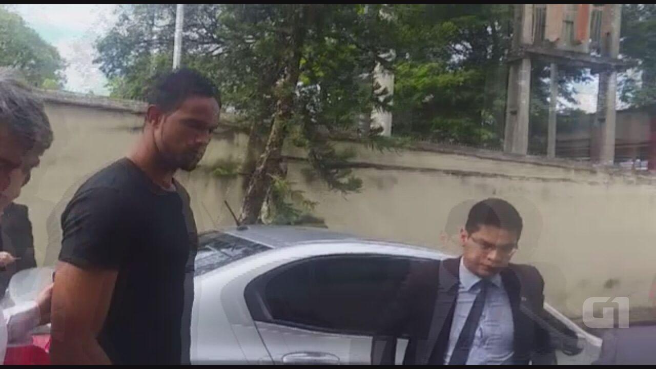 Goleiro Bruno é preso após mandado ser expedido pela Justiça
