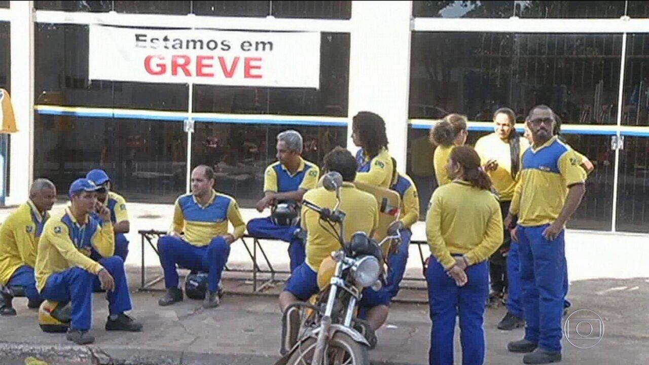 Greve geral também causa transtornos em Belém e Aracaju