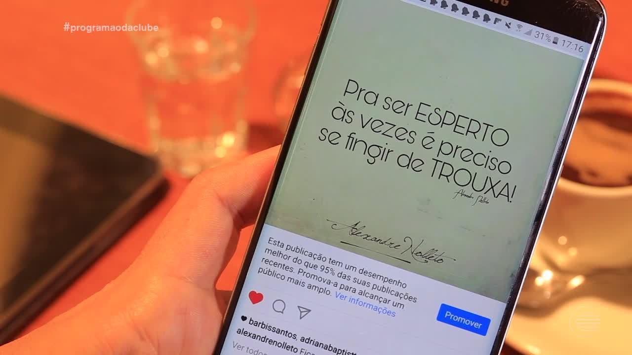 Escritor Alexandre Nolleto fala dessa nova era da poesia nas redes sociais