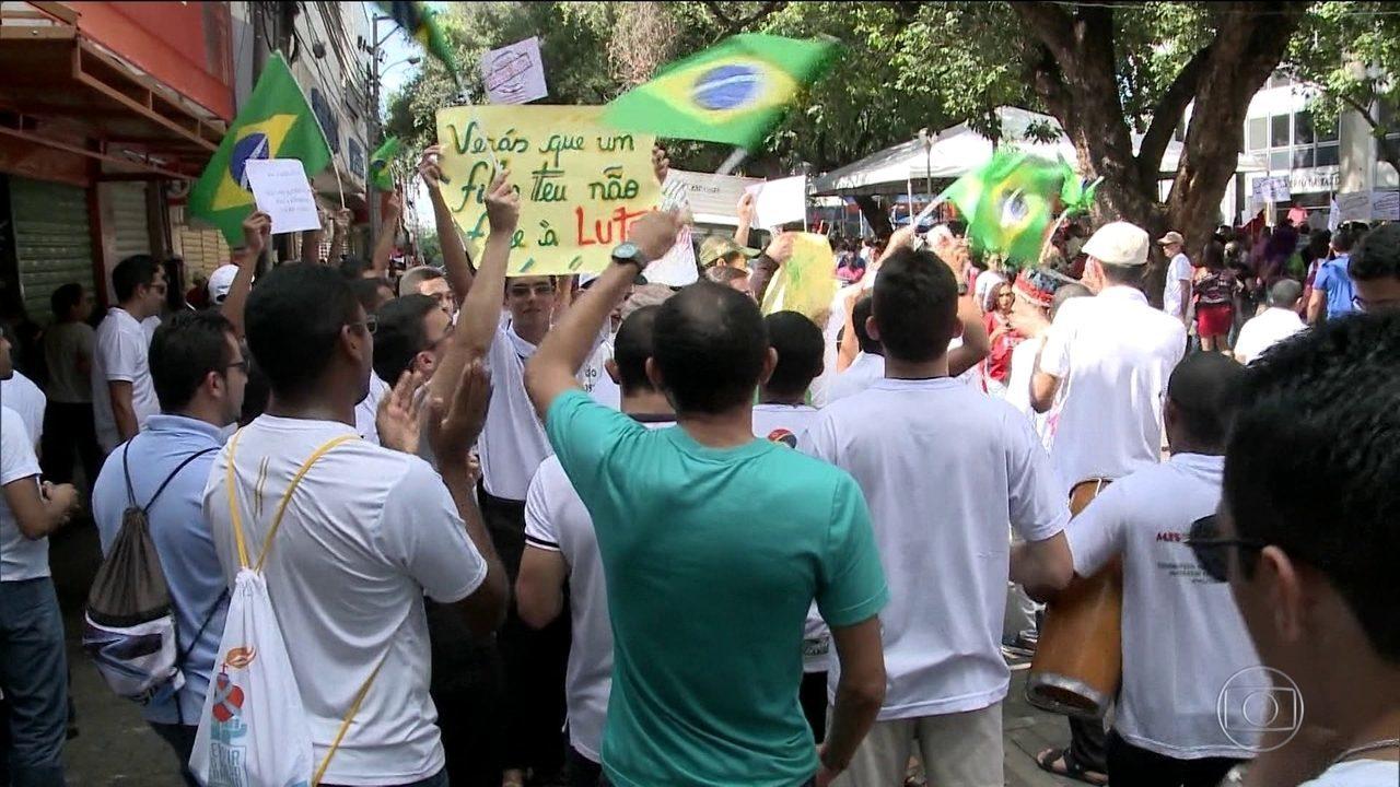Em Recife, 1,8 milhão de passageiros ficam sem transporte público