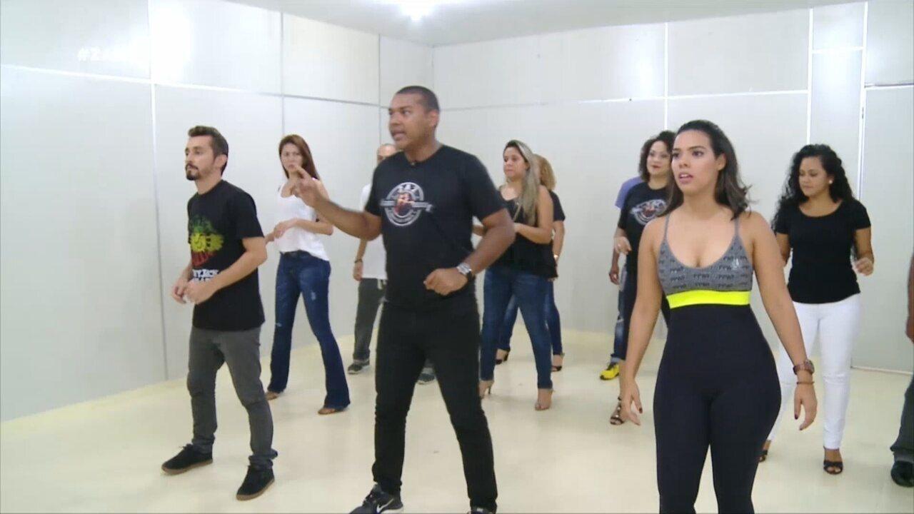 Parte 2: Apresentadores do 'Zapp' encaram duro treinamento de dança