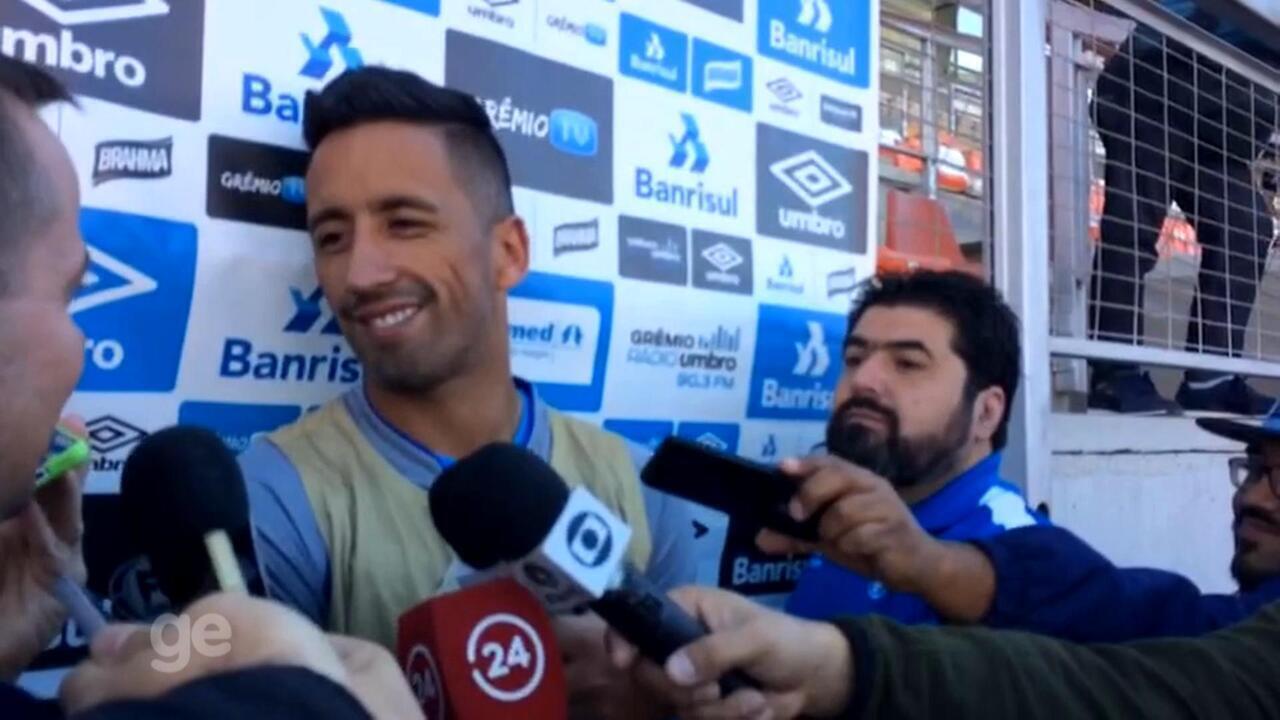 Barrios fala de seu momento no Grêmio e jogo no Chile