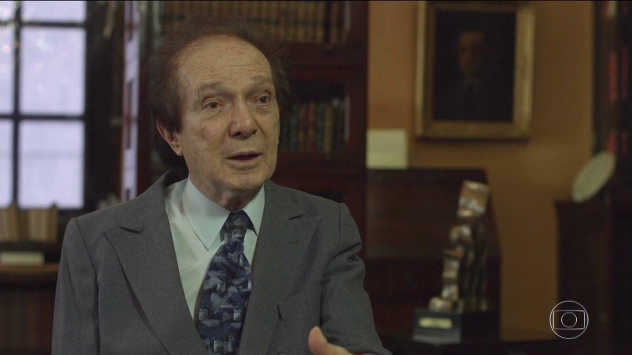 Morre no Rio aos 84 anos o acadêmico Eduardo Portella