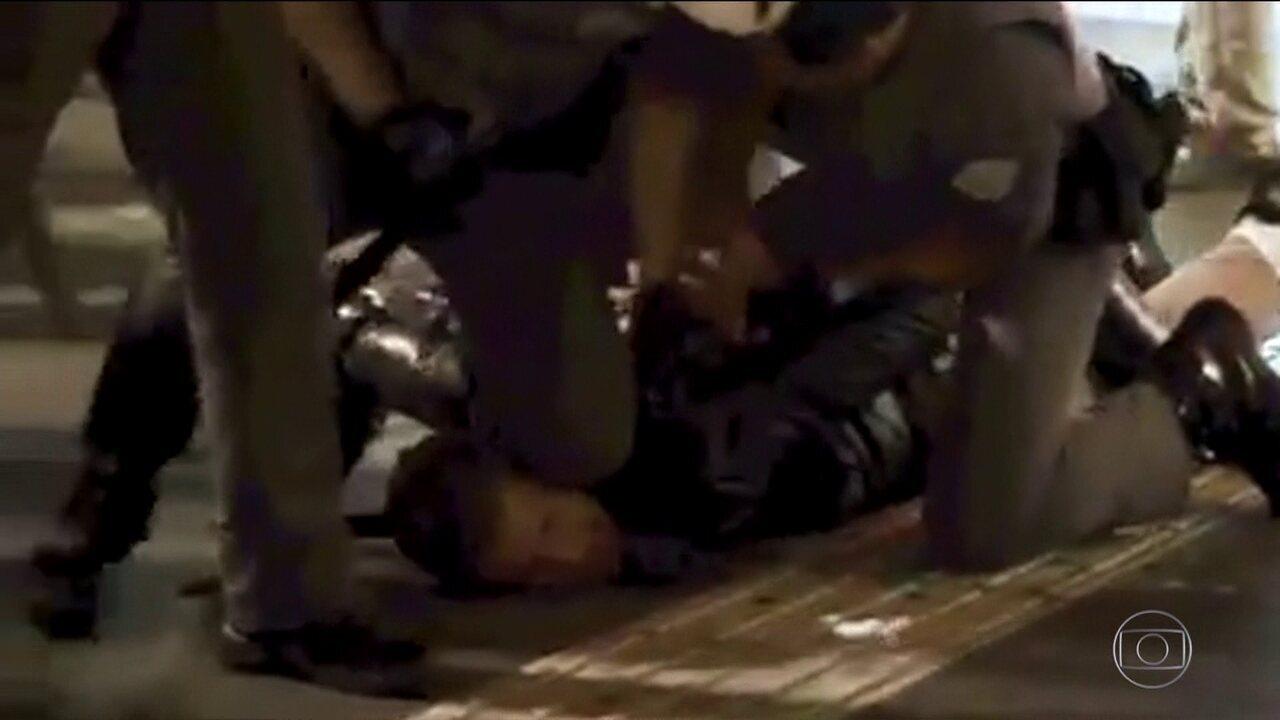 Justiça manda soltar quatro homens que estavam presos, depois de uma confusão na Paulista