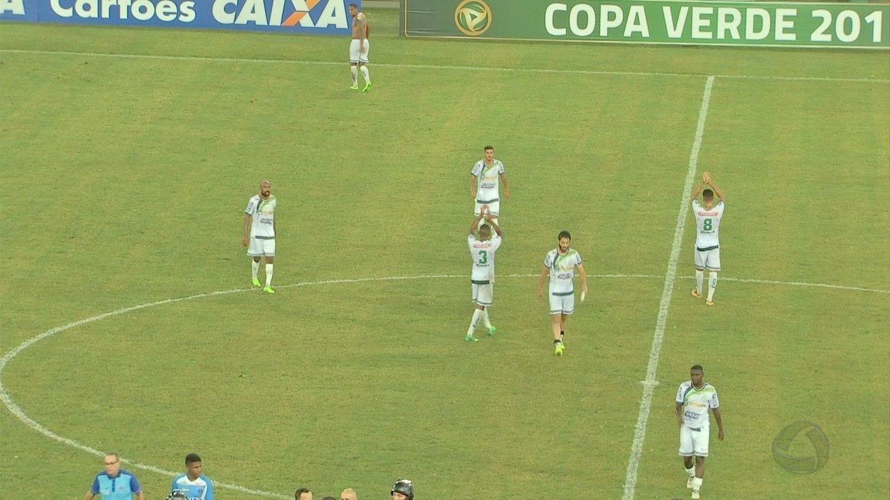 Com certa facilidade, Luverdense bate Paysandu e fica perto de conquistar a Copa Verde
