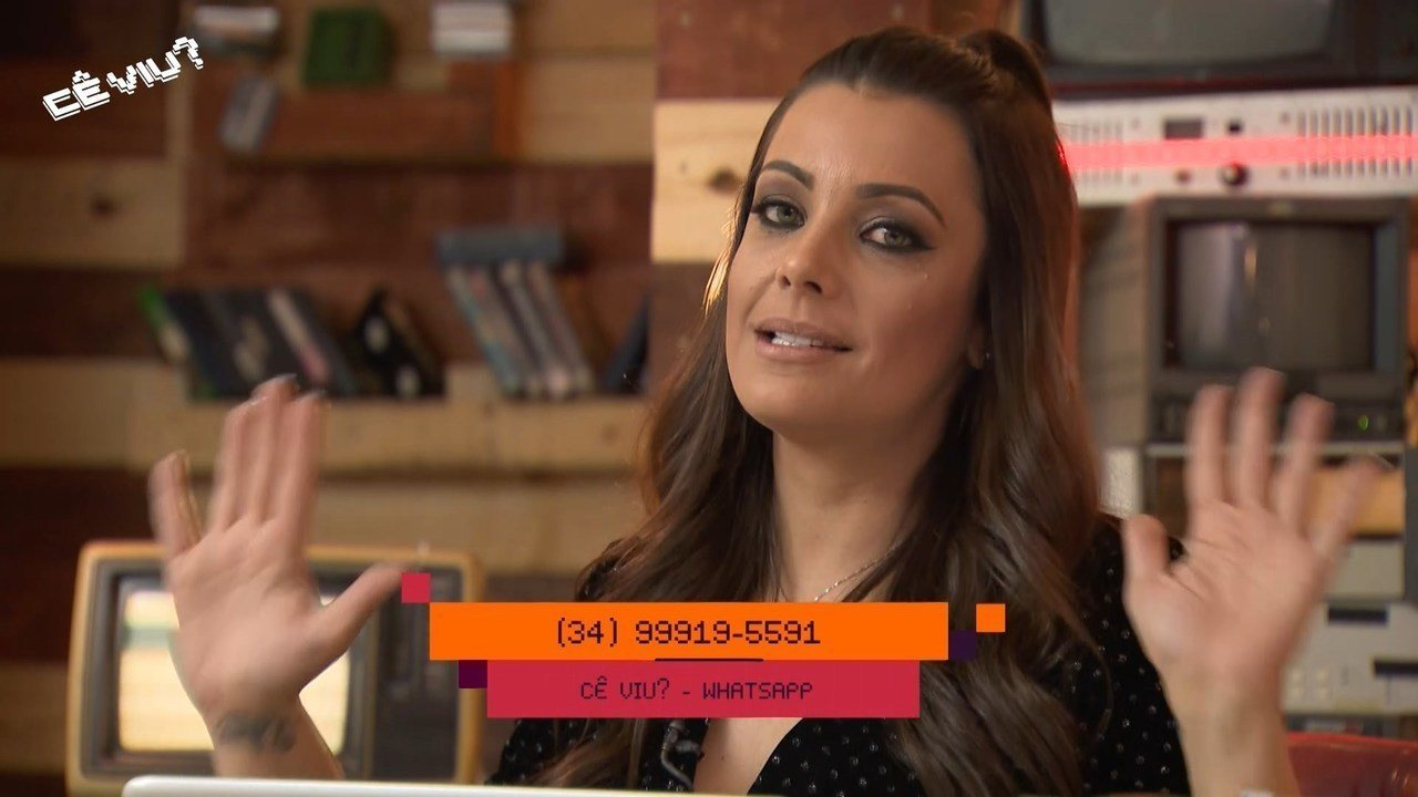 Cecília Ribeiro explica como participar do 'Cê Viu?'