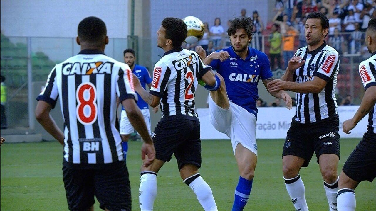 Melhores momentos de Atlético-MG 2 x 1 Cruzeiro, na final do Mineiro 2017