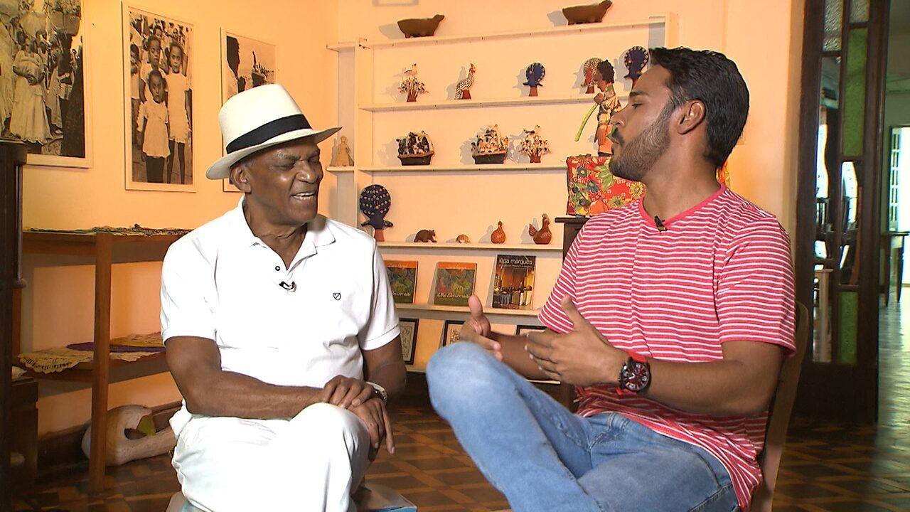 Pablo Vasconcelos conversa com Antônio Pitanga sobre arte, obras e vida