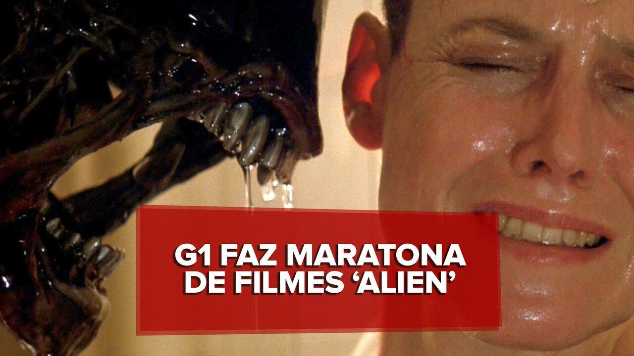 G1 faz maratona com todos os filmes da série 'Alien'